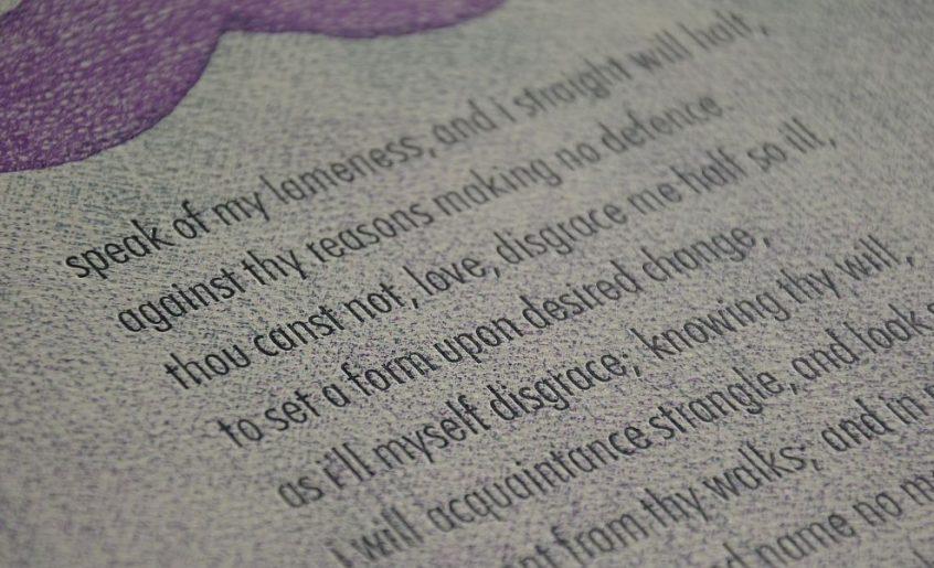 Shakespeare Sonett 89 The Fork And Broom Press